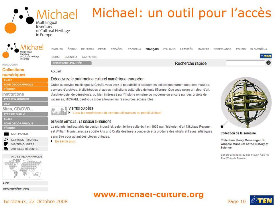 Michael: un outil pour l'accès