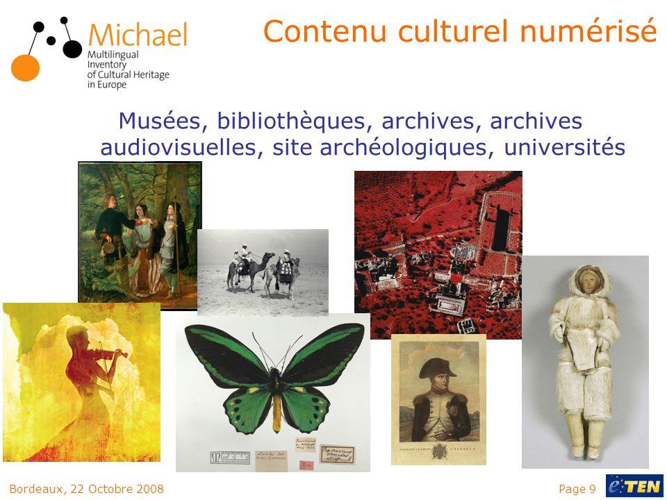 Contenu culturel numérisé