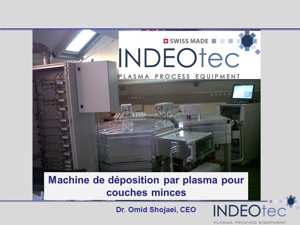 Machine de déposition par plasma pour couches minces