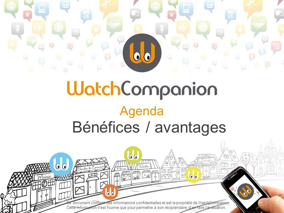 Agenda Bénéfices / avantages