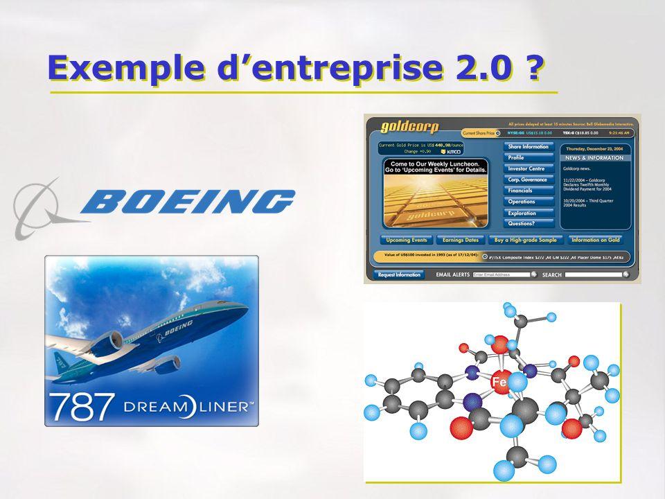 Exemple d'entreprise 2.0