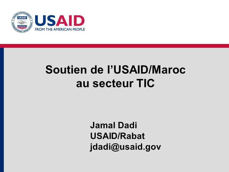 Soutien de l'USAID/Maroc au secteur TIC
