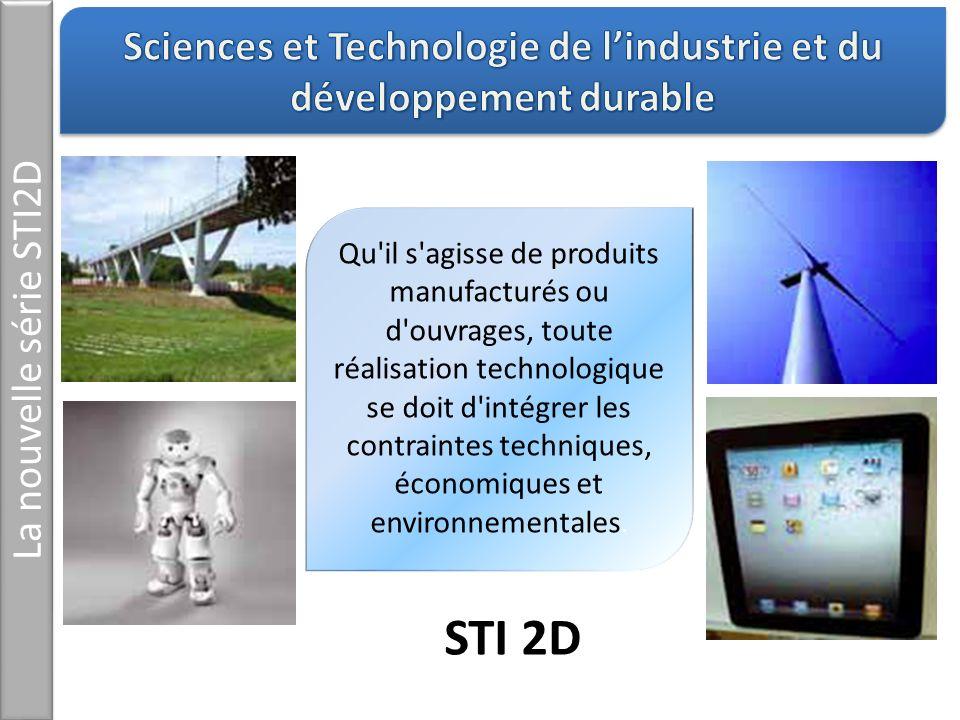 Sciences et Technologie de l'industrie et du développement durable