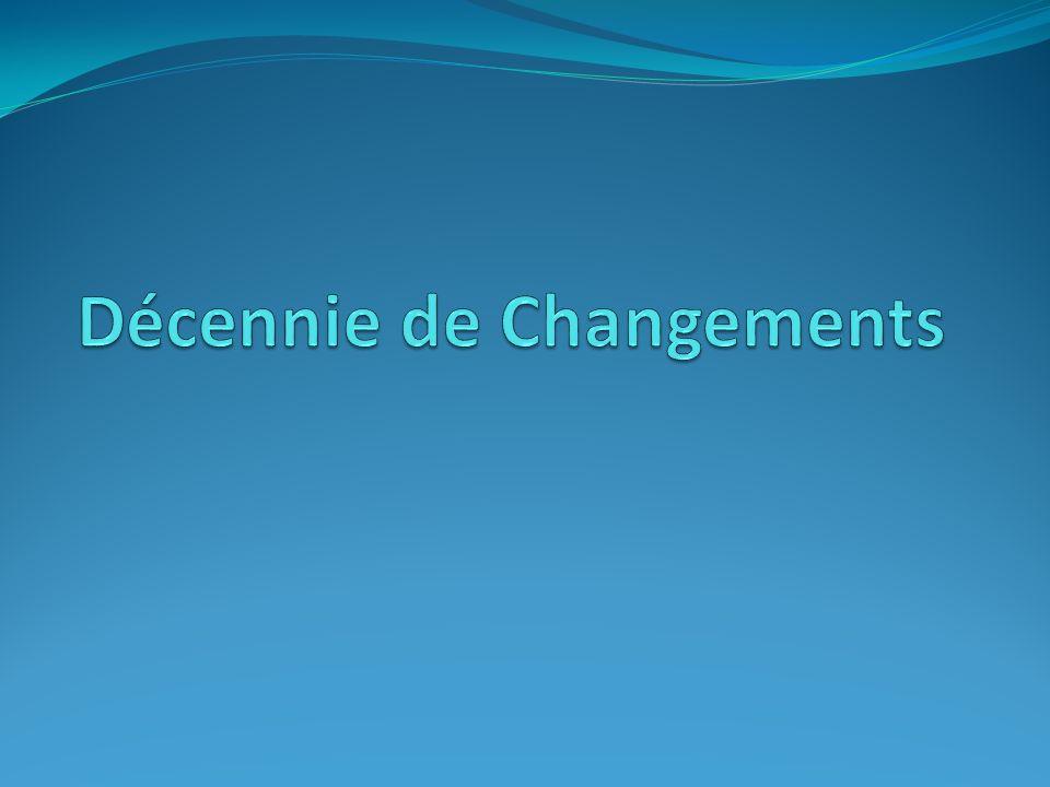 Décennie de Changements