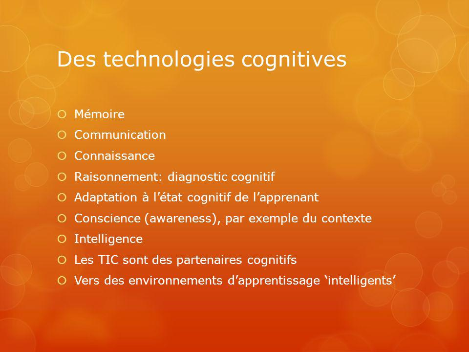 Des technologies cognitives