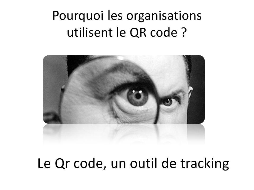 Pourquoi les organisations utilisent le QR code