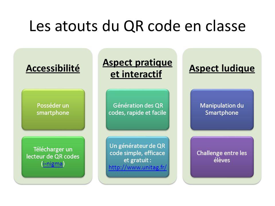 Les atouts du QR code en classe
