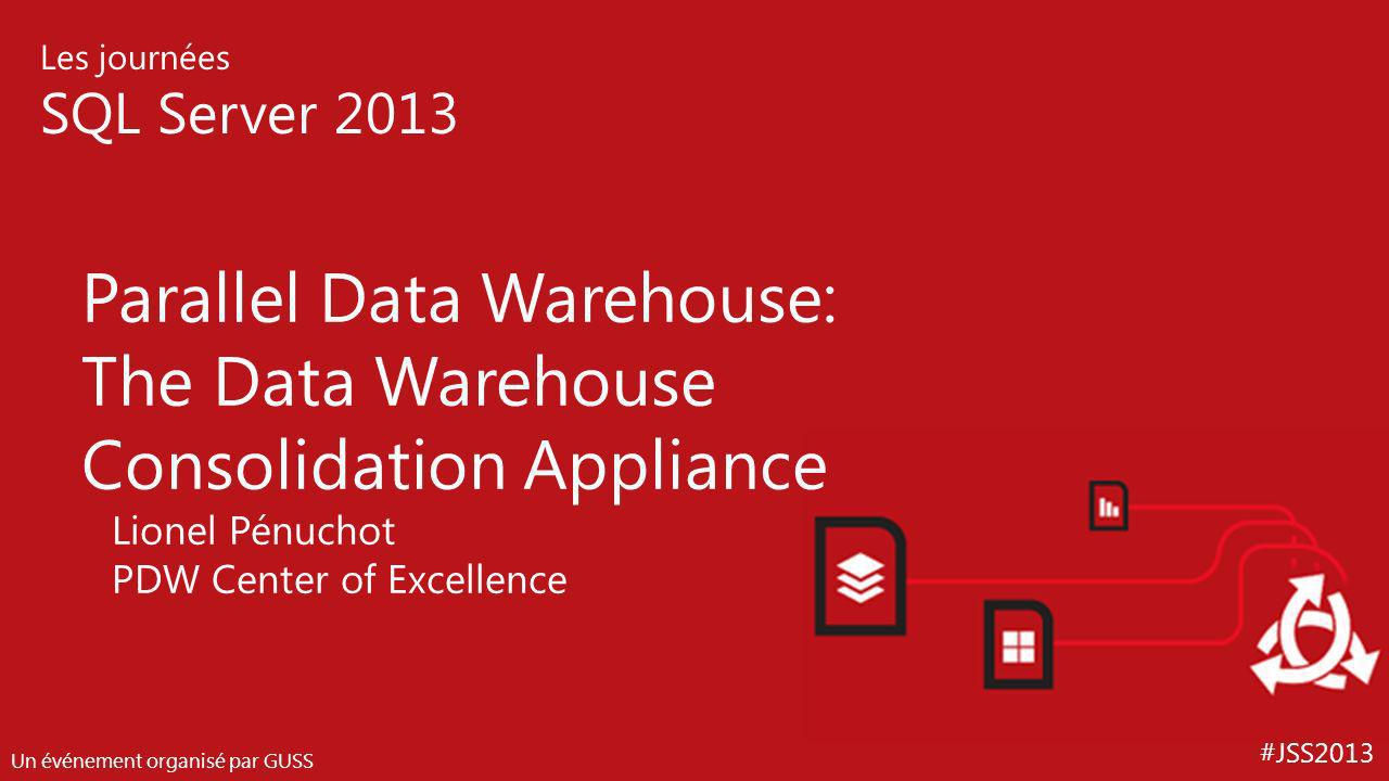 Parallel Data Warehouse: The Data Warehouse Consolidation Appliance