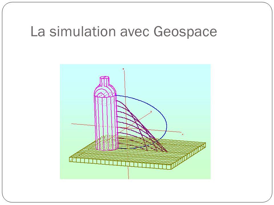 La simulation avec Geospace