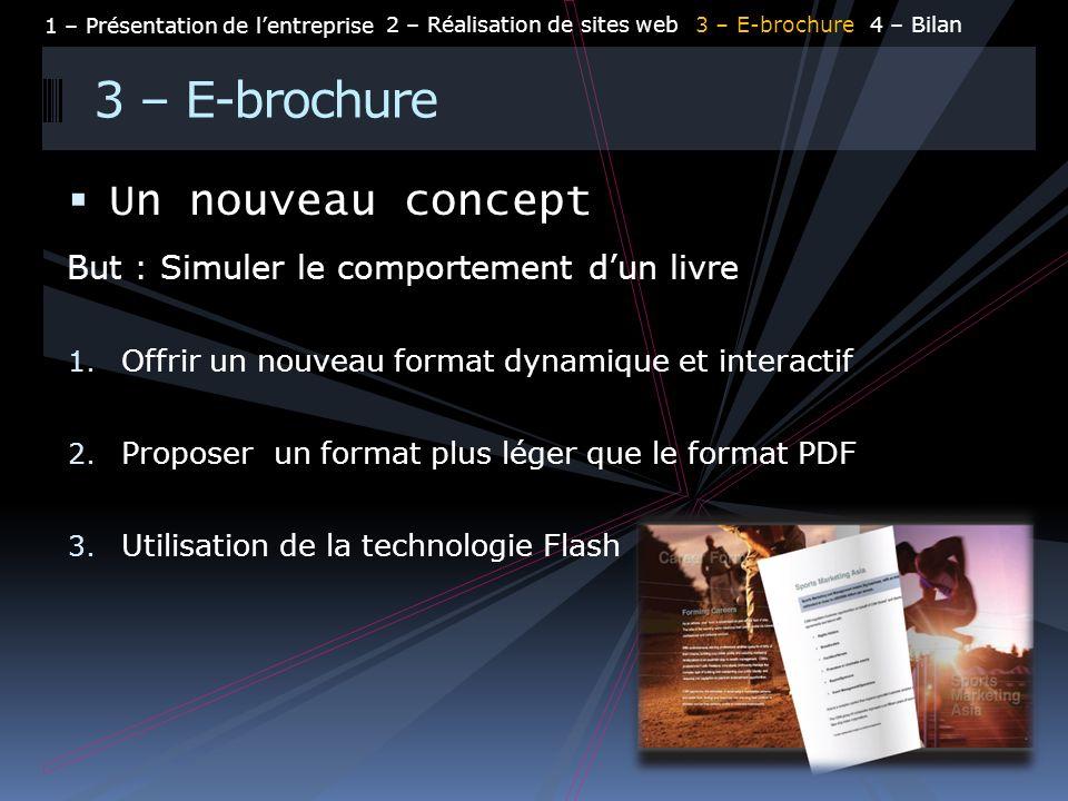 3 – E-brochure Un nouveau concept