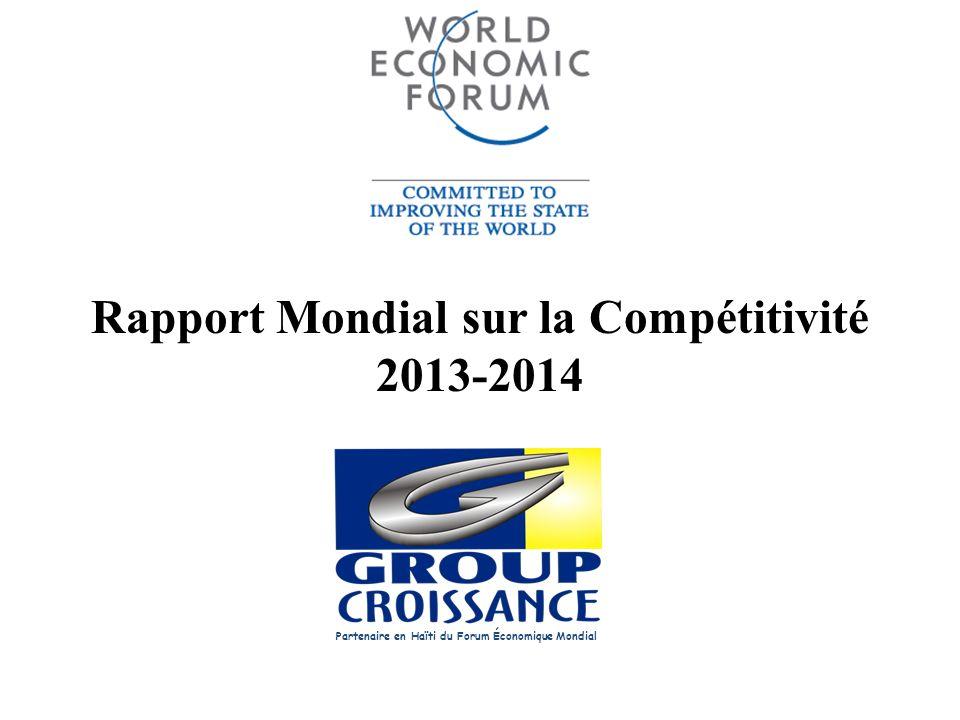 Rapport Mondial sur la Compétitivité 2013-2014
