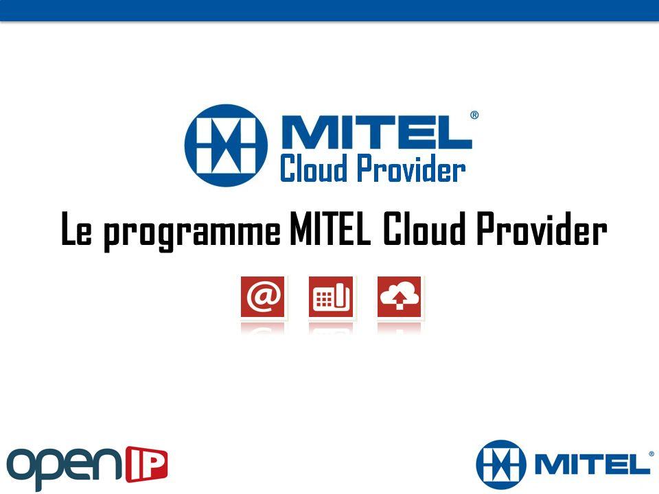 Le programme MITEL Cloud Provider