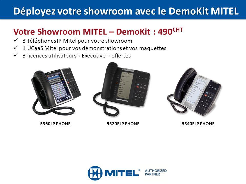 Déployez votre showroom avec le DemoKit MITEL