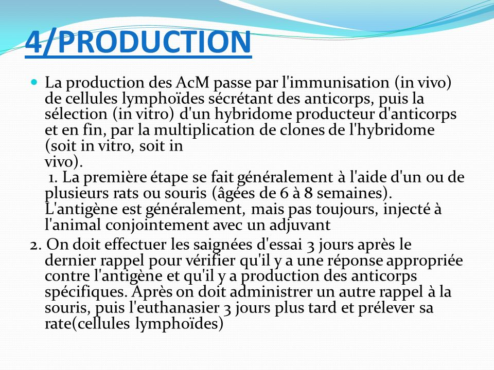 4/PRODUCTION
