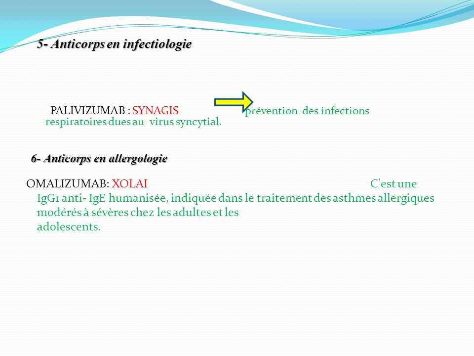 5- Anticorps en infectiologie