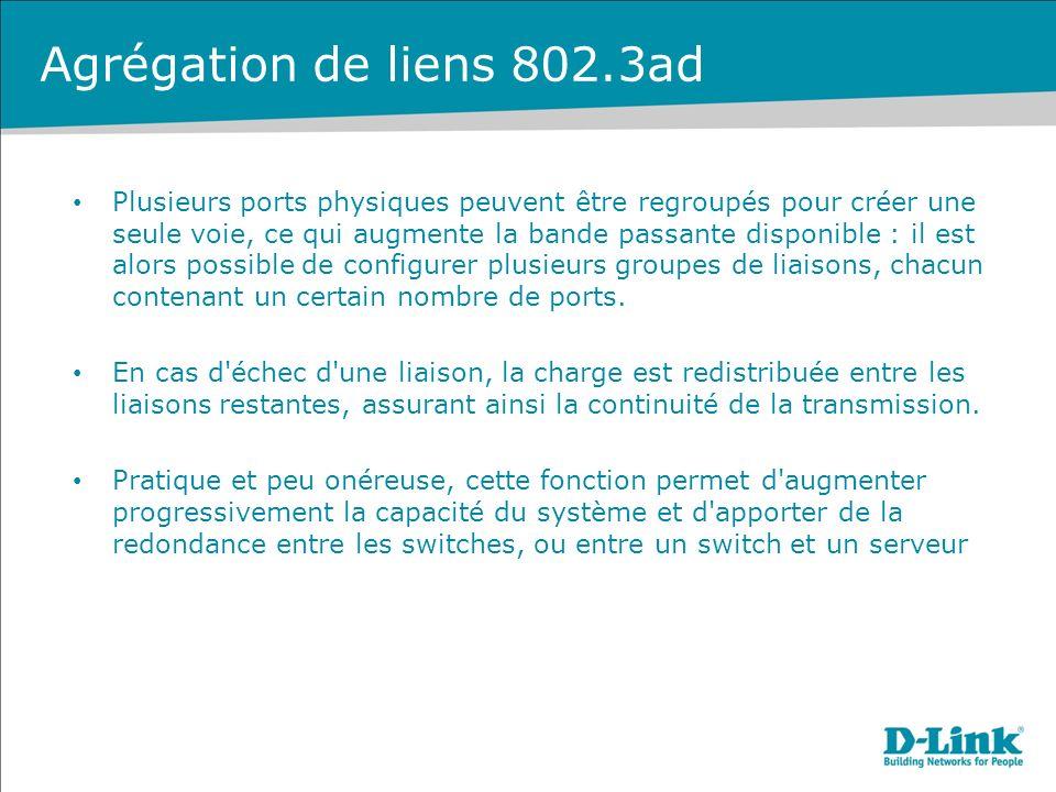 Agrégation de liens 802.3ad
