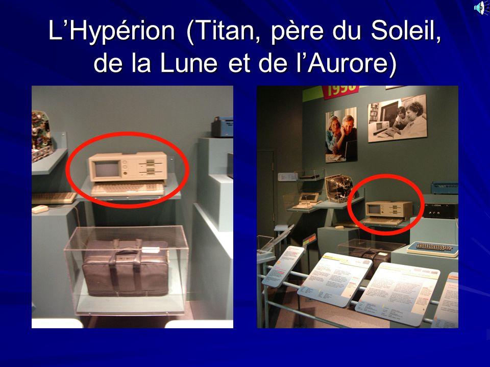 L'Hypérion (Titan, père du Soleil, de la Lune et de l'Aurore)