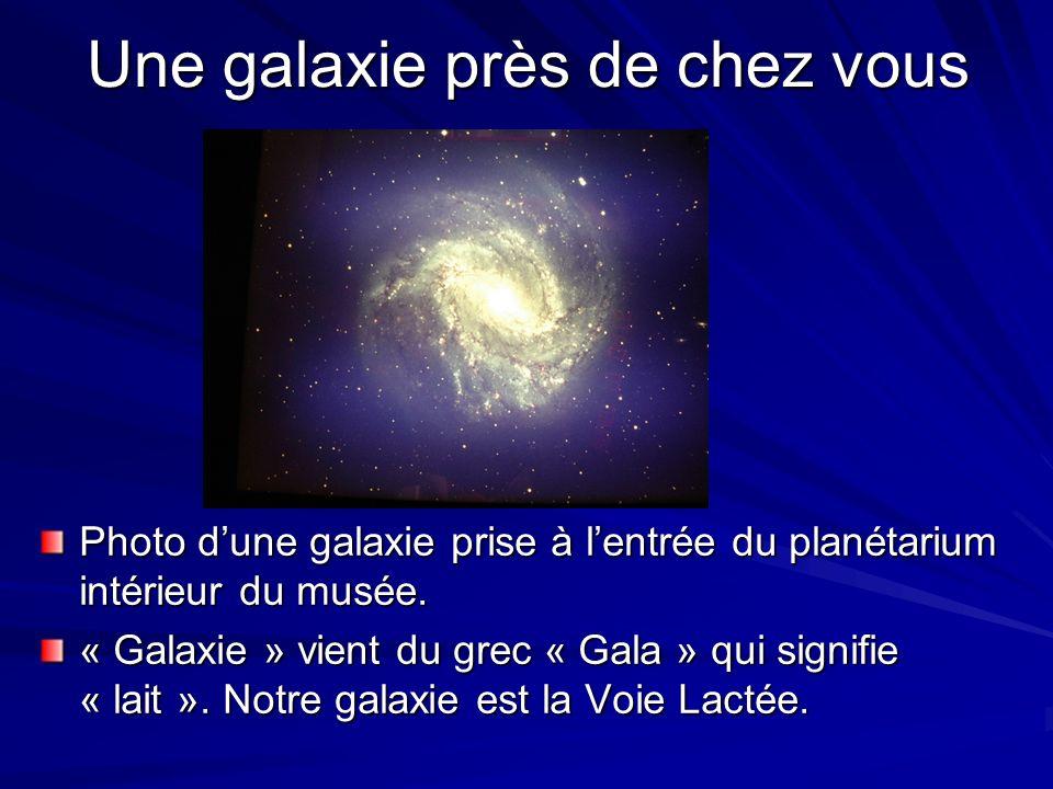 Une galaxie près de chez vous