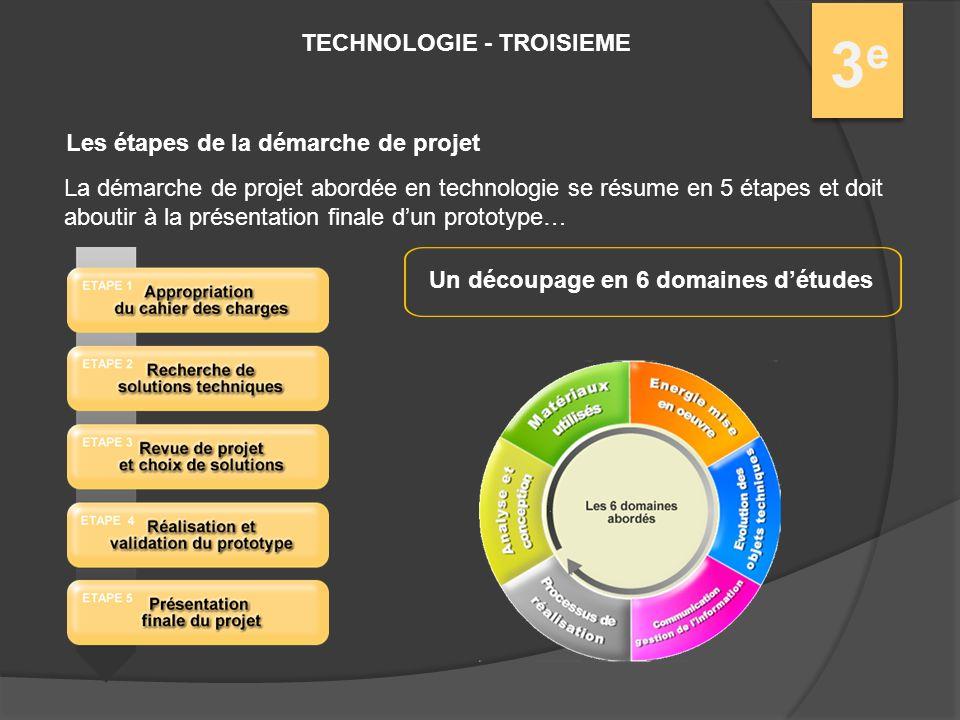 technologie - troisieme