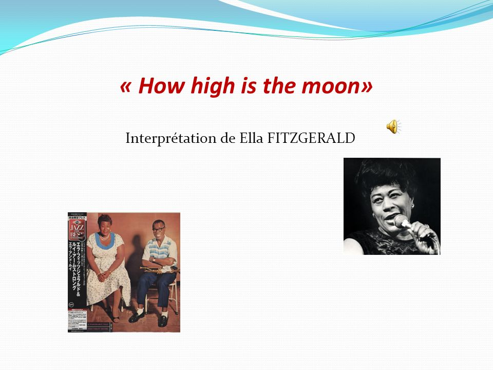 Interprétation de Ella FITZGERALD