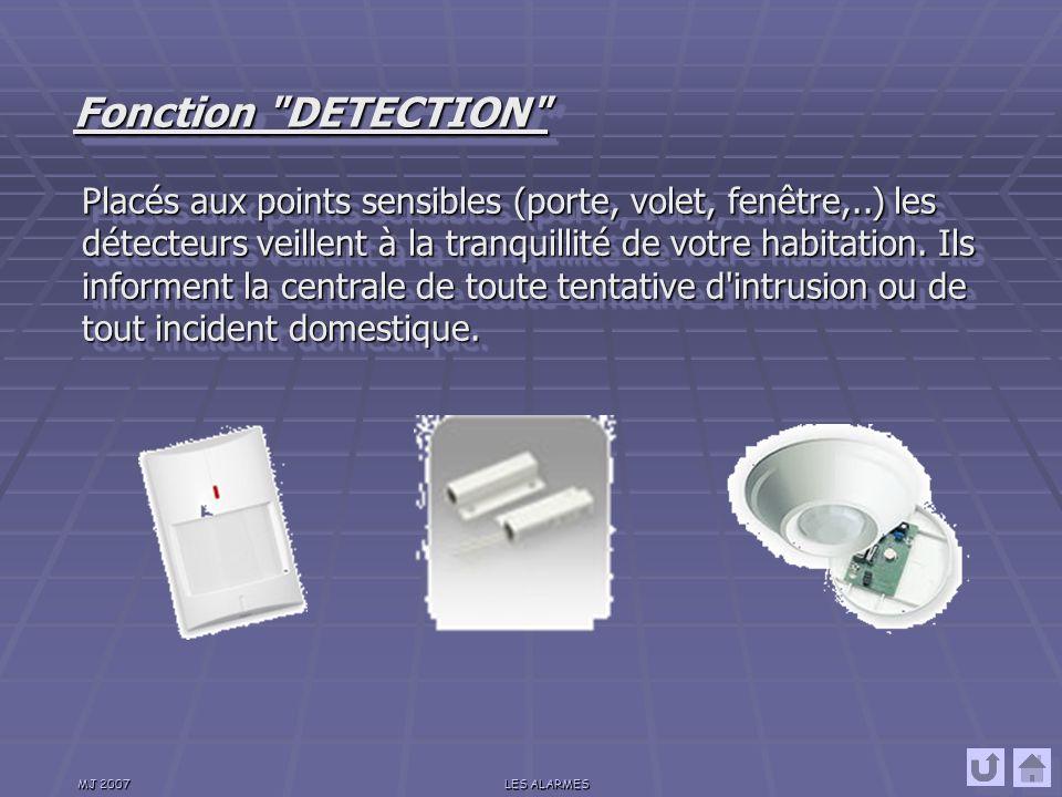 Fonction DETECTION