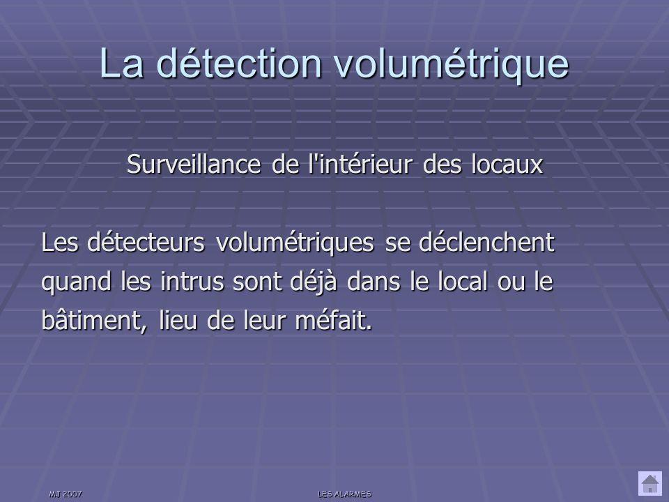 La détection volumétrique