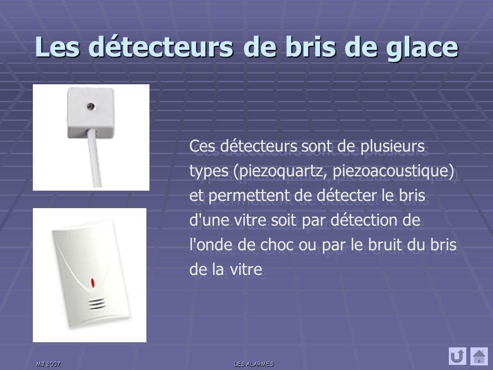 Les détecteurs de bris de glace