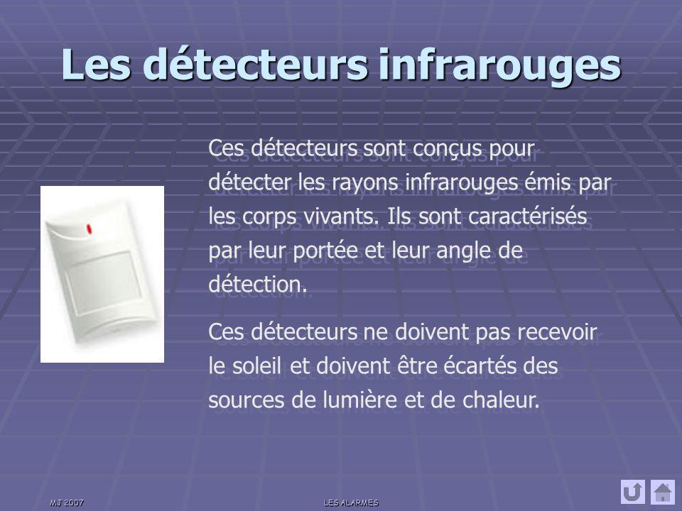 Les détecteurs infrarouges