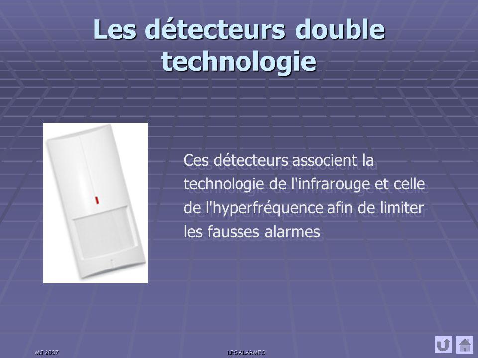 Les détecteurs double technologie