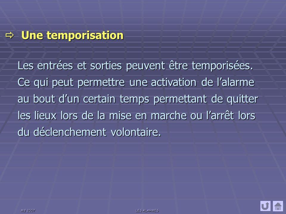  Une temporisation