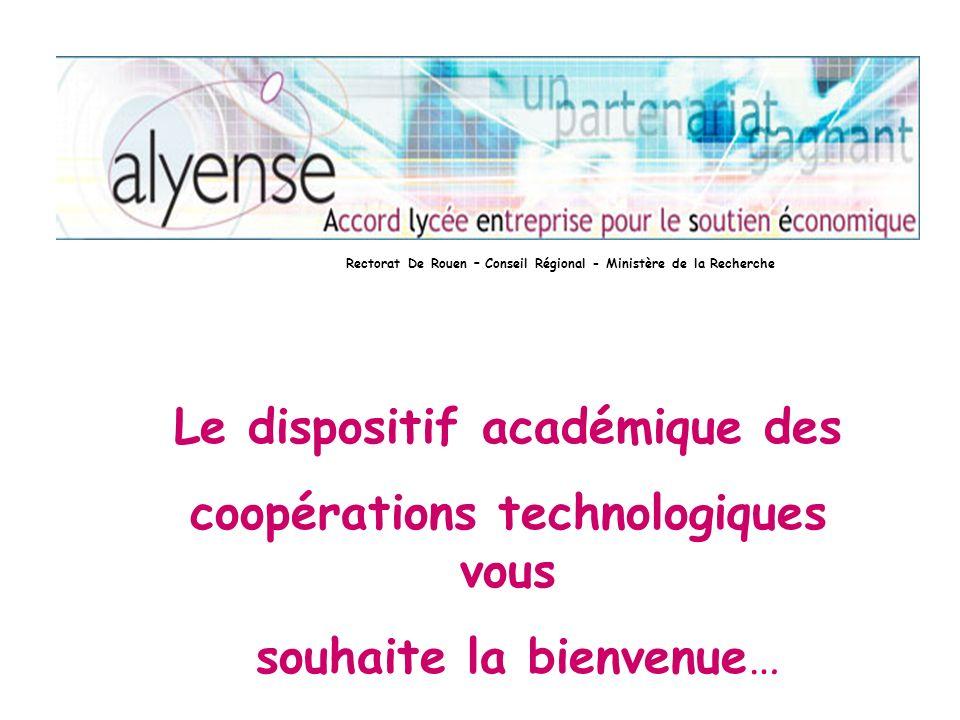 Le dispositif académique des coopérations technologiques vous
