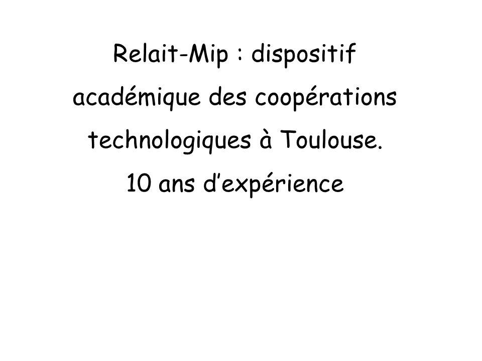 Relait-Mip : dispositif académique des coopérations