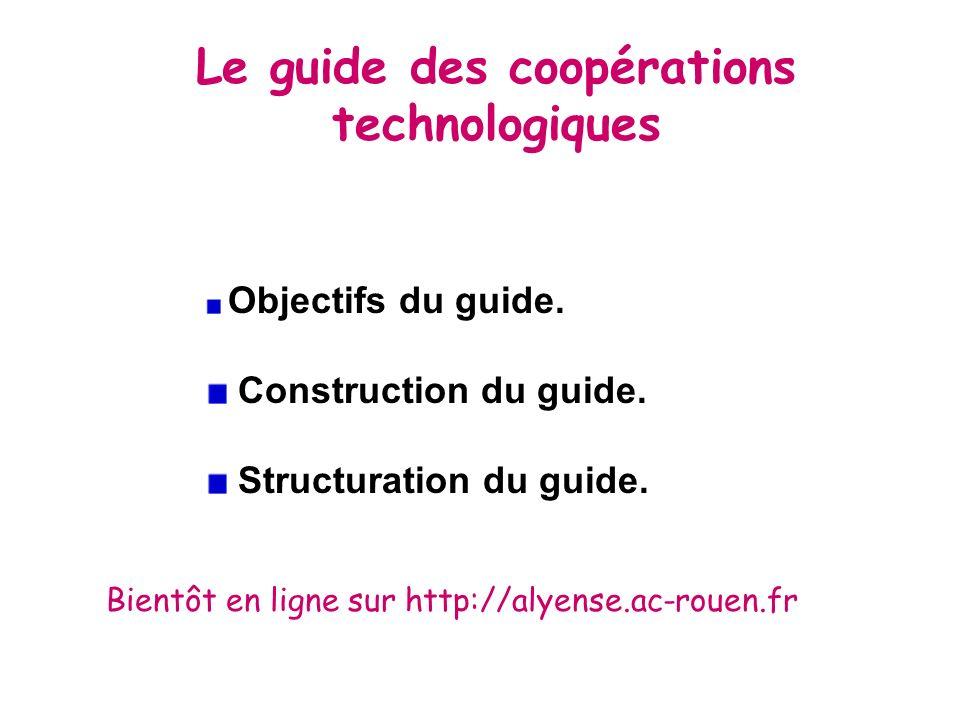 Le guide des coopérations technologiques