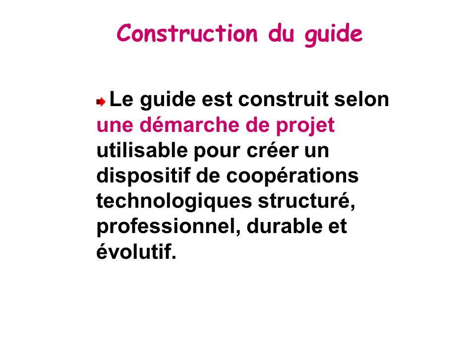 Construction du guide