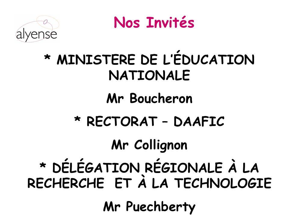 * MINISTERE DE L'ÉDUCATION NATIONALE