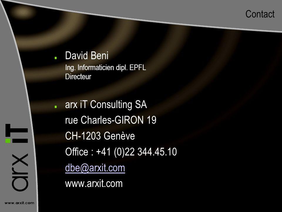 Ing. Informaticien dipl. EPFL