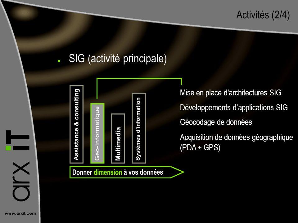 SIG (activité principale)