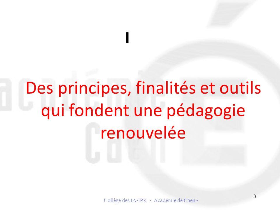 Collège des IA-IPR - Académie de Caen -