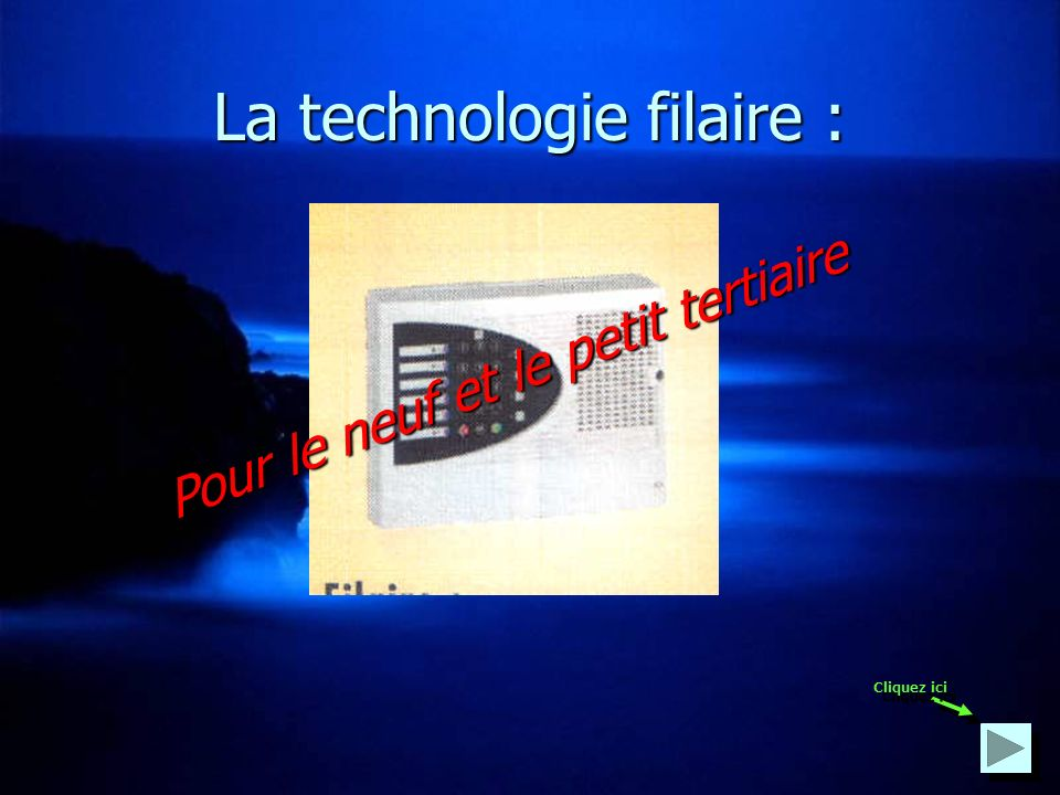 La technologie filaire :