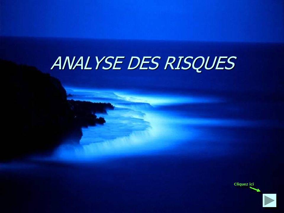 ANALYSE DES RISQUES Cliquez ici