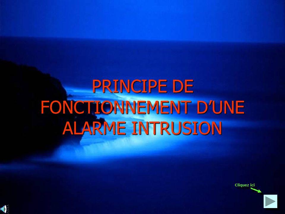 PRINCIPE DE FONCTIONNEMENT D'UNE