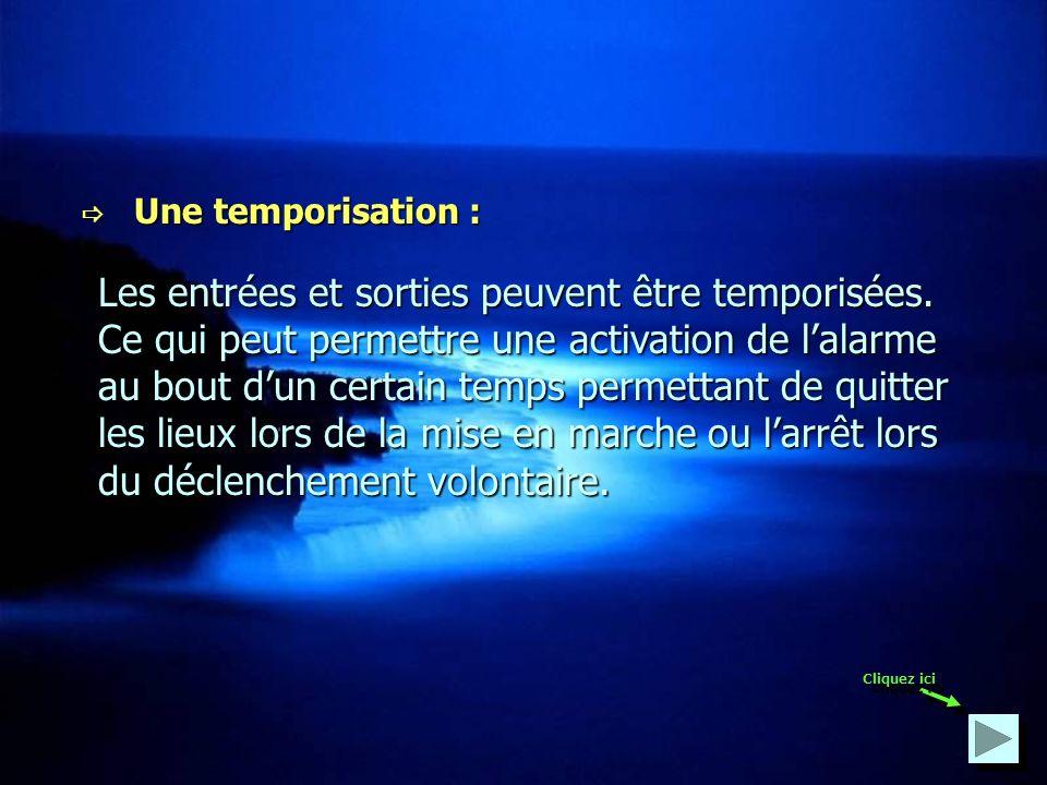  Une temporisation :
