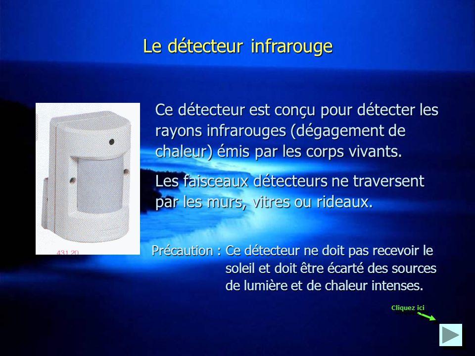 Le détecteur infrarouge