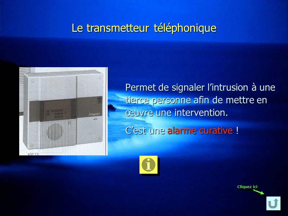 Le transmetteur téléphonique