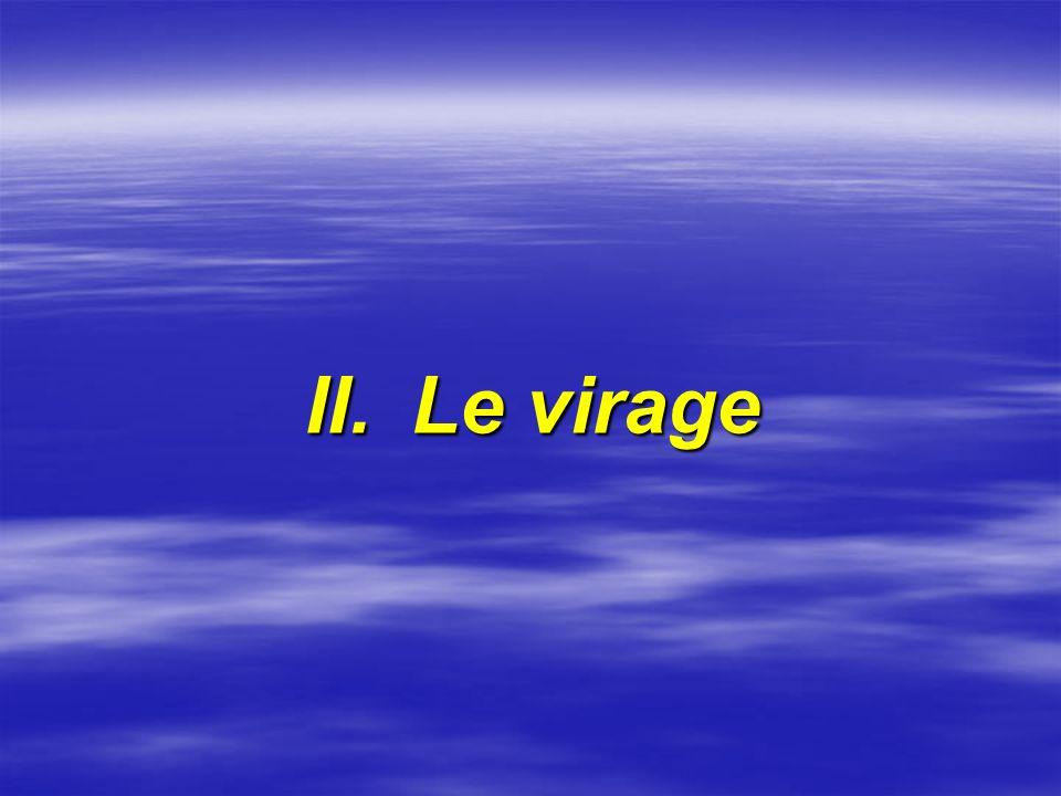 II. Le virage