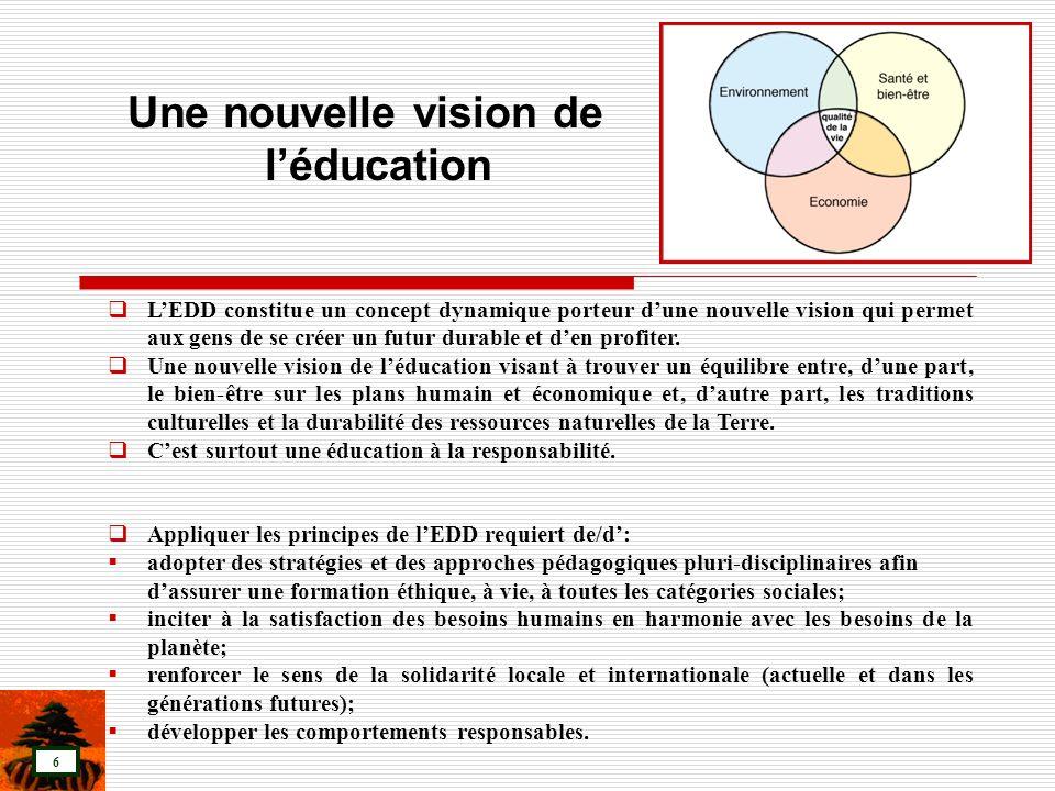 Une nouvelle vision de l'éducation