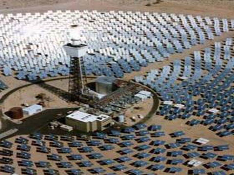 Centrale solaire thermique à Barstow, Californie