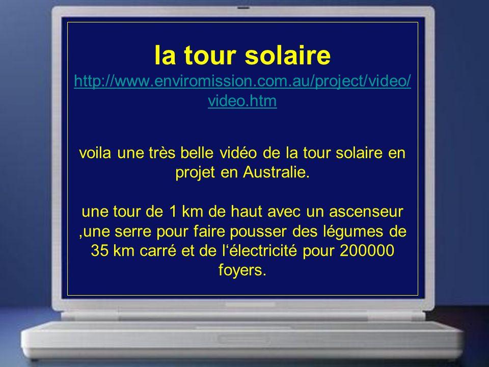 la tour solaire http://www. enviromission. com. au/project/video/video