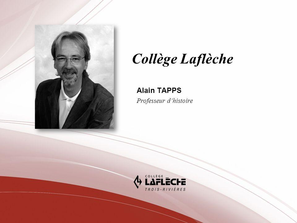 Alain TAPPS Professeur d'histoire