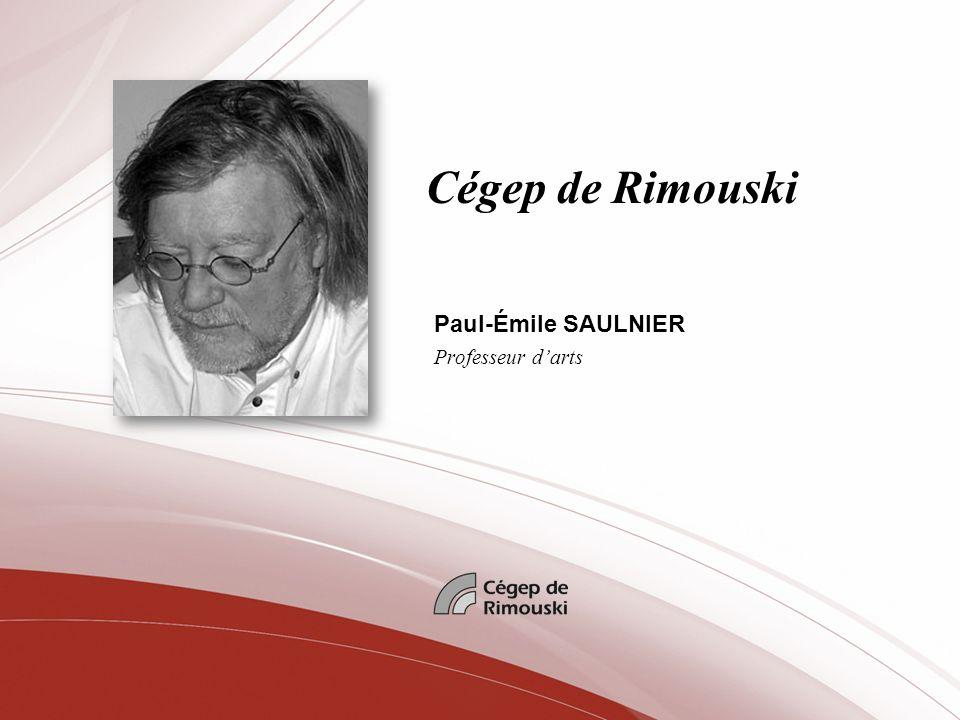 Paul-Émile SAULNIER Professeur d'arts